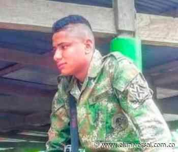 Colosó está de luto por muerte de soldado en Ituango - El Universal - Colombia