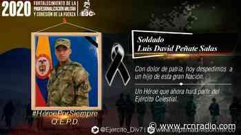 Muere soldado en medio de operativos contra disidencias en Ituango, Antioquia - RCN Radio