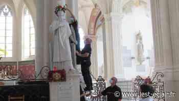 Saint-Laurent couronné dans l'église de Nogent-sur-Seine - L'Est Eclair