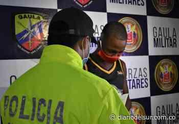 """Capturan a """"Paipa"""" cabecilla de una banda delincuencial en Buenaventura - Diario del Sur"""