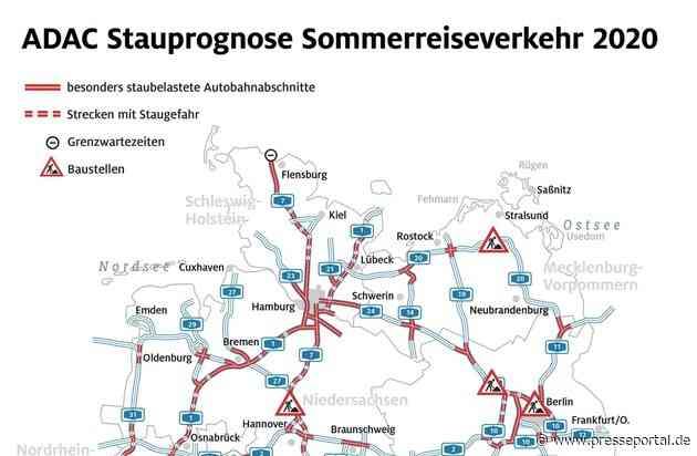 Urlaubsheimkehr zeitweise beschwerlich / Ferien-Ende in Hessen, Rheinland-Pfalz und dem Saarland / ADAC Stauprognose für 14. bis 16. August