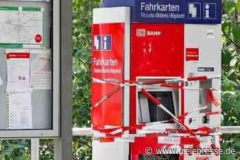 Fahrkartenautomat gesprengt - Freie Presse