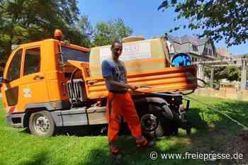 1700 Liter Wasser täglich für Stadtgrün - Freie Presse