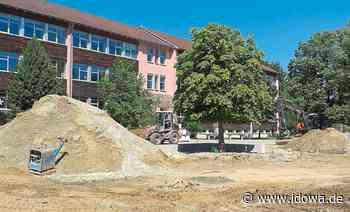 Mainburg: Pausenhofsanierung an der Grundschule läuft auf Hochtouren - idowa