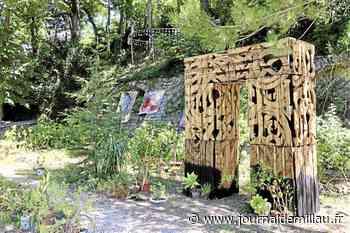 Terrasses d'art, une galerie et un jardin animés - Journal de Millau