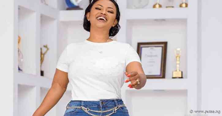Let's inhale some freshness from actress Nana Ama McBrown