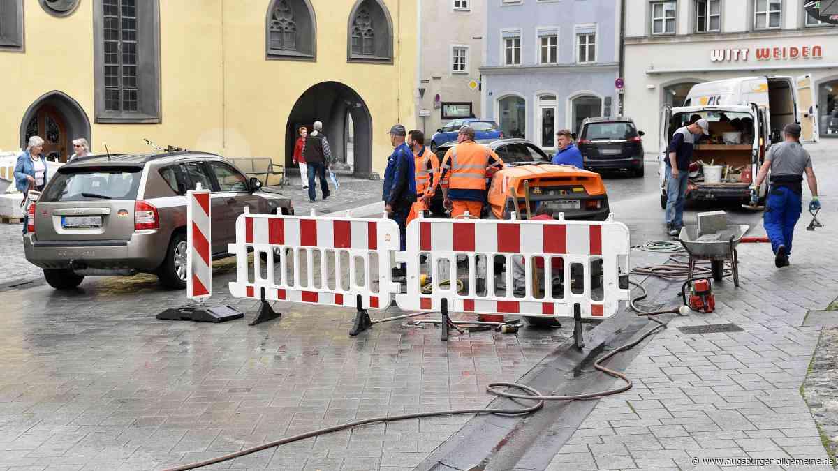 Verkehr: Im Landsberger Zentrum gibt es Behinderungen