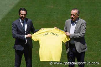Unai Emery se apresenta e diz que sonha em conquistar título com o Villarreal - Gazeta Esportiva