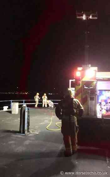 Fire at Weymouth Pleasure Pier - Dorset Echo
