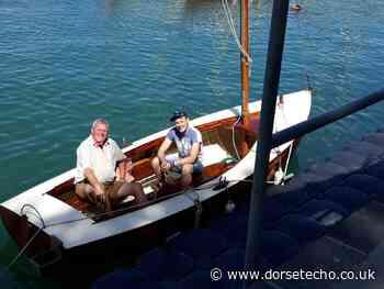 Rare sailing boat returns to the sea in Weymouth - Dorset Echo