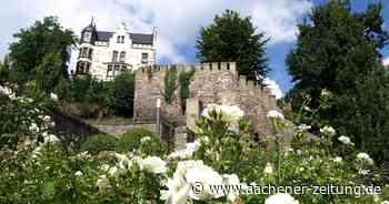 Mauer von Burg Rode in Herzogenrath: Letzter Abschnitt der Sanierung beginnt - Aachener Zeitung