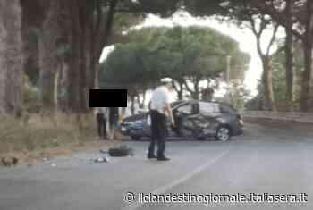 Incidente sulla Nettuno Velletri, due auto distrutte nello scontro - Il Clandestino Giornale