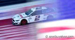 Brad Keselowski drives No. 2 Ford Mustang to second-place finish at Michigan International Speedway