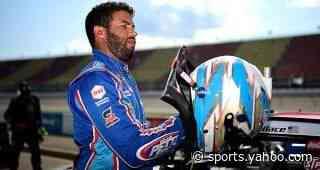 Bubba Wallace drives No. 43 Chevrolet Camaro to ninth-place finish at Michigan International Speedway