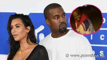 Im Familienurlaub: Hier tanzen Kanye West und Tochter North - Promiflash.de