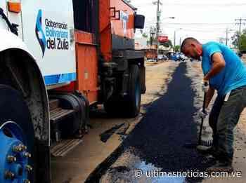 Inician plan de asfaltado y bacheo en el Zulia - Últimas Noticias