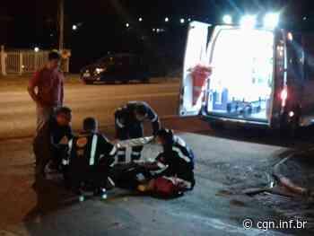 Motociclista sofre fratura em acidente em Santa Izabel do Oeste - CGN