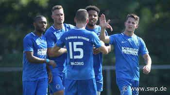 Bietigheim schlägt Allmersbach im WFV-Pokal 3:0: Germanen bejubeln ersten Sieg im ersten Pflichtspiel - SWP