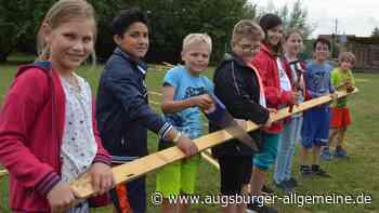 Beim Ferienspaß in Weißenhorn gibt es Ballspiele, Turnen – und mal ein Eis - Augsburger Allgemeine