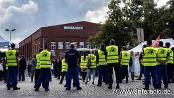 Was wird aus Bombardier in Hennigsdorf? - Inforadio vom rbb