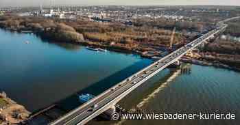 Schiersteiner Brücke wieder befahrbar - vorerst