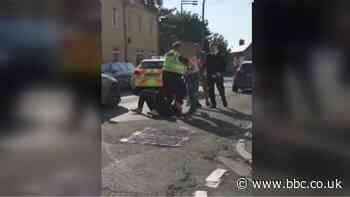 Taser use in Barry disturbance defended by police
