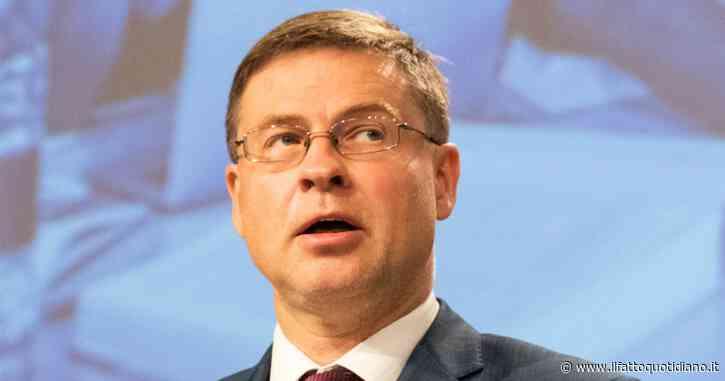 """Dombrovskis: """"patto di stabilità sospeso anche nel 2021"""". Per il futuro si ritoccano le regole ma i vincoli rimangono"""