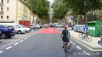 Goethestraße in Kassel wird zur zur Fahrradstraße umgebaut - hna.de