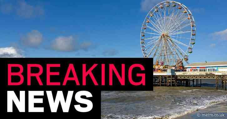 Teenage girl not seen 'since walking into sea' as blood found on pier