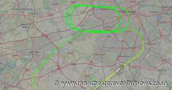 BREAKING: Jet2 Boeing 757 circles above Greater Manchester after taking off