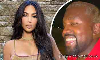 Kim Kardashian and Kanye West are 'happier' and 'in a great place' after private talks