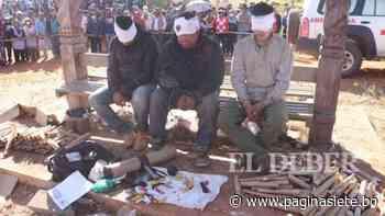 Liberan a rehenes tras negociar con alcalde de San Ignacio de Velasco - Pagina Siete