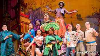 Coronavirus: Christmas pantomimes postponed as theatres struggle to survive - Sky News