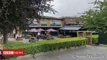 Coronavirus: Heaton Moor bar owner angry at 'irresponsible' drinker - BBC News