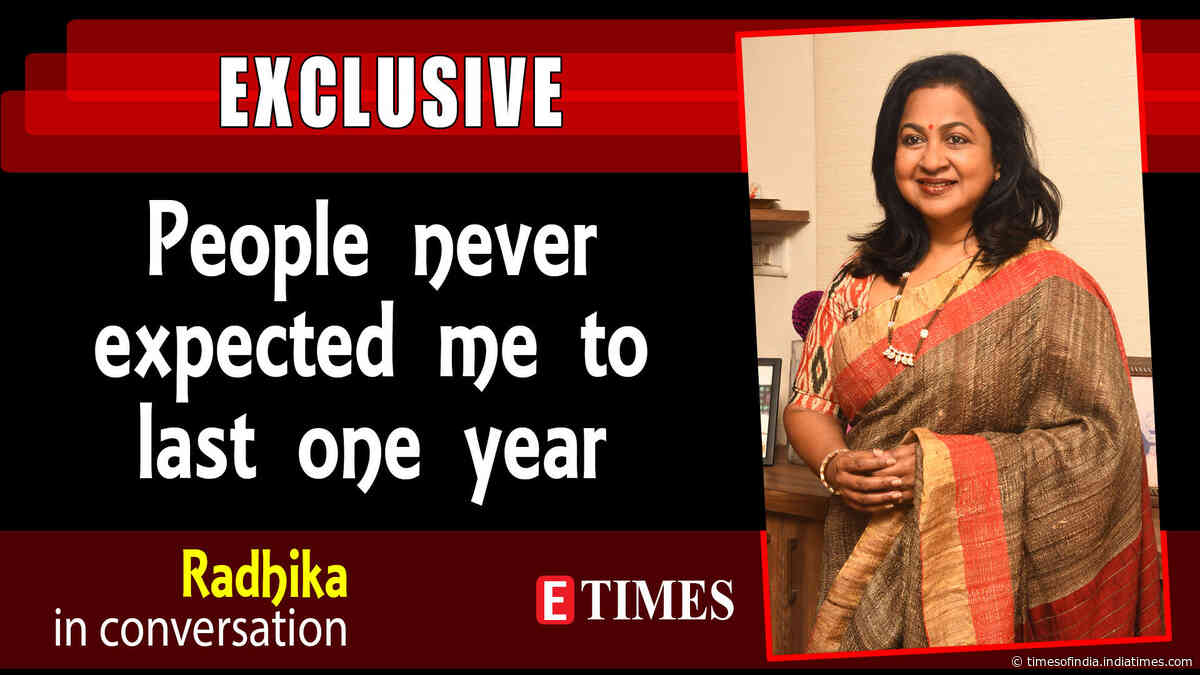 #Throwback: Radikaa: I was not heroine material at all