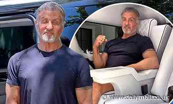 Sylvester Stallone puts his opulent stretched Cadillac Escalade up for sale for $350K