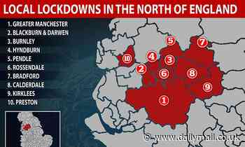 Coronavirus UK: Oldham is latest hotspot with 150 new cases
