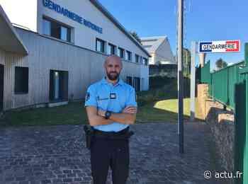 Cherbourg-en-Cotentin : le nouveau commandant de la gendarmerie est arrivé - La Presse de la Manche