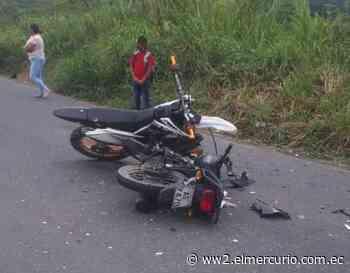 Dos motos chocaron en La Troncal; hay tres muertos - El Mercurio (Ecuador)