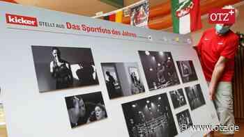 Kicker-Sportfotos in der Landessportschule zu sehen
