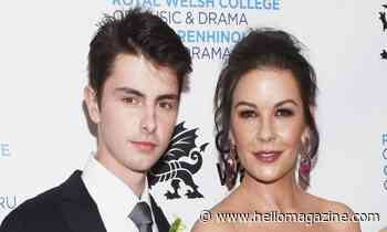 Catherine Zeta-Jones treats son Dylan to show-stopping birthday cake - see it here