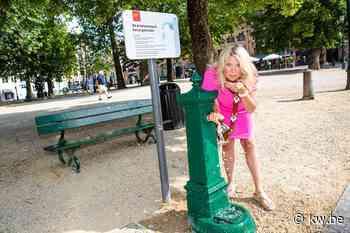 Drinkwaterfonteinen in Brugse binnenstad