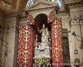 Siracusa, domani esposizione straordinaria del simulacro di Santa Lucia in Cattedrale - Siracusa News - Siracusa News