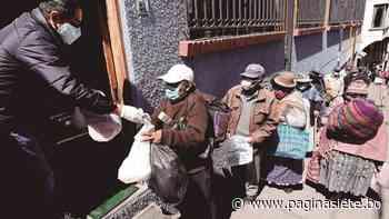 El comedor del San Calixto, un faro en medio de la pandemia para los abuelitos - Diario Pagina Siete