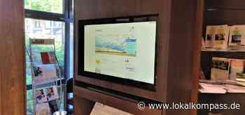 Ense: Bürgermonitor im Foyer des Rathauses einsatzbereit - Arnsberg - Lokalkompass.de