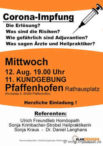 Corona-Impfung? - Pfaffenhofen an der Roth - myheimat.de - myheimat.de