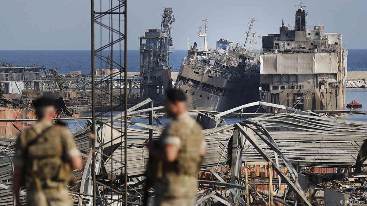 Lebanon's Cabinet resigns over Beirut blast amid public fury