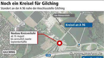 Auf zum neuen Kreisverkehr bei Gilching - Merkur.de