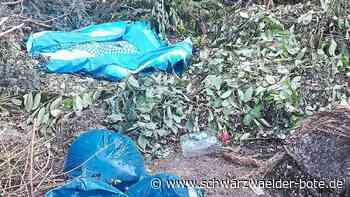 Straubenhardt - Wiederholt Müll am Häckselplatz entsorgt - Schwarzwälder Bote