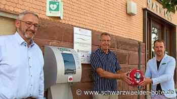"""Straubenhardt - Straubenhardt wird noch """"herzsicherer"""" - Schwarzwälder Bote"""